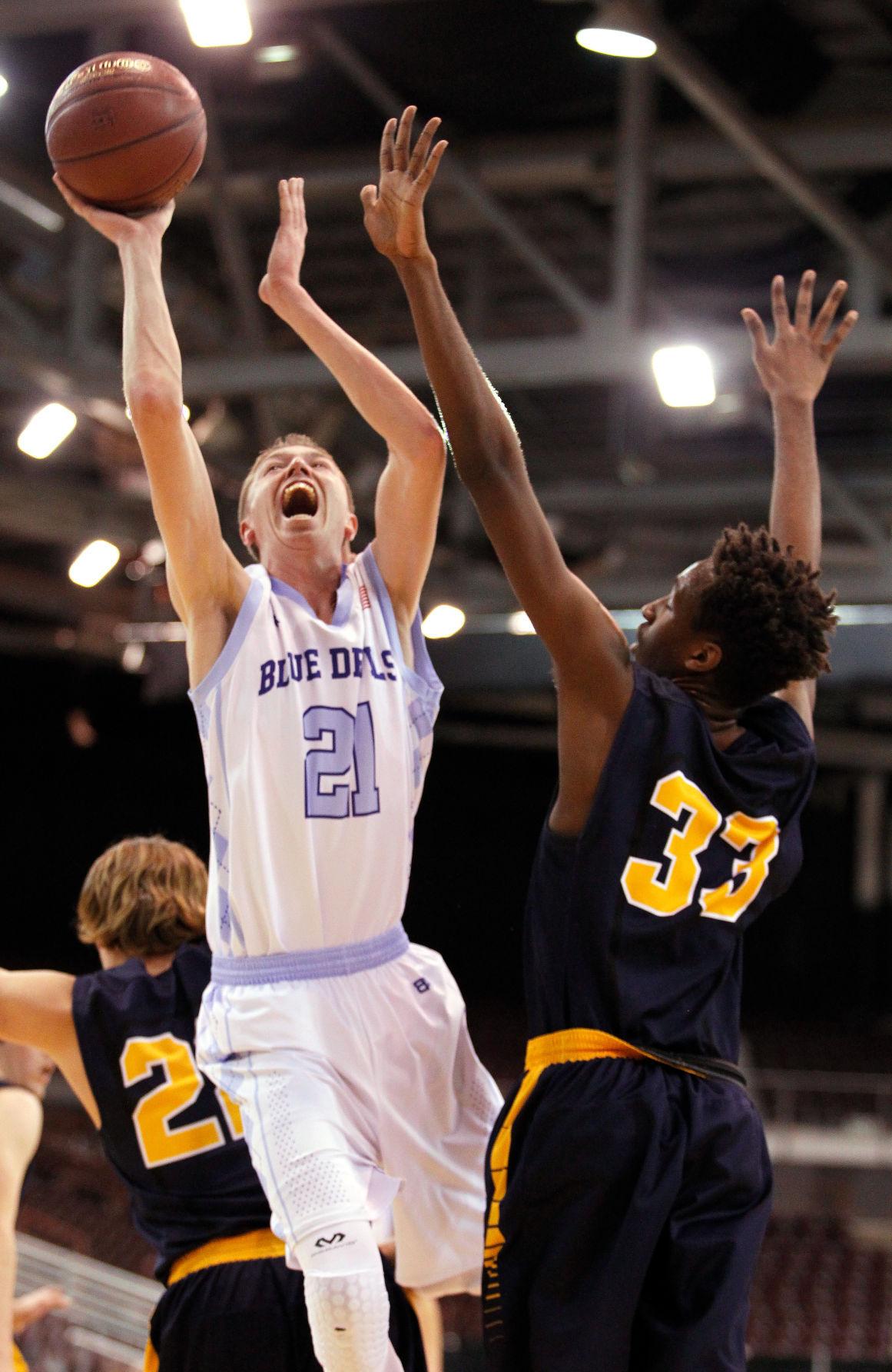 1A DII Boys State Basketball Championship - Dietrich Vs. Genesis Prep