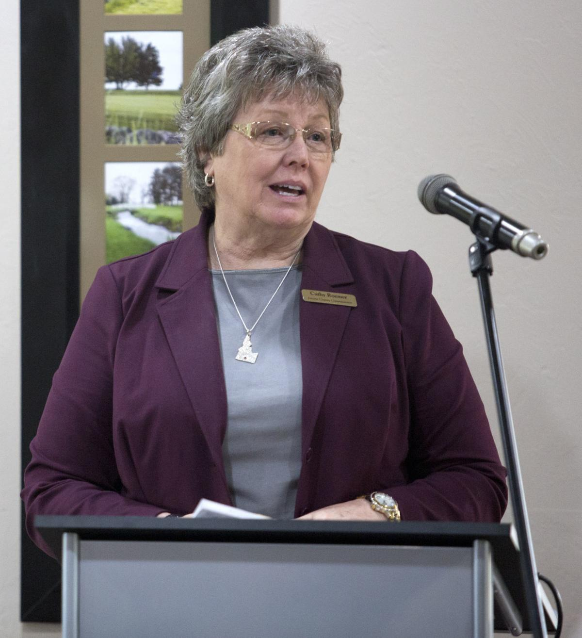 Jerome County Commissioner Cathy Roemer