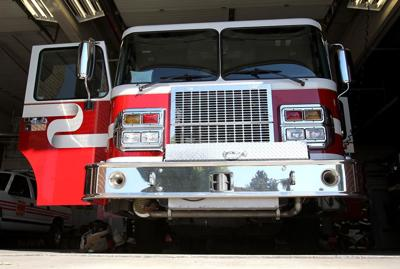 Fire engine, truck, fire department