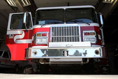Fire engine, truck, fire department