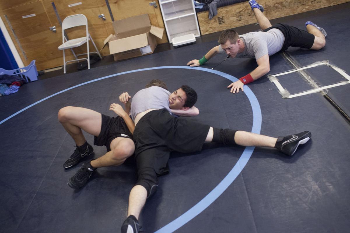 Twin Falls High School Wrestling Practice