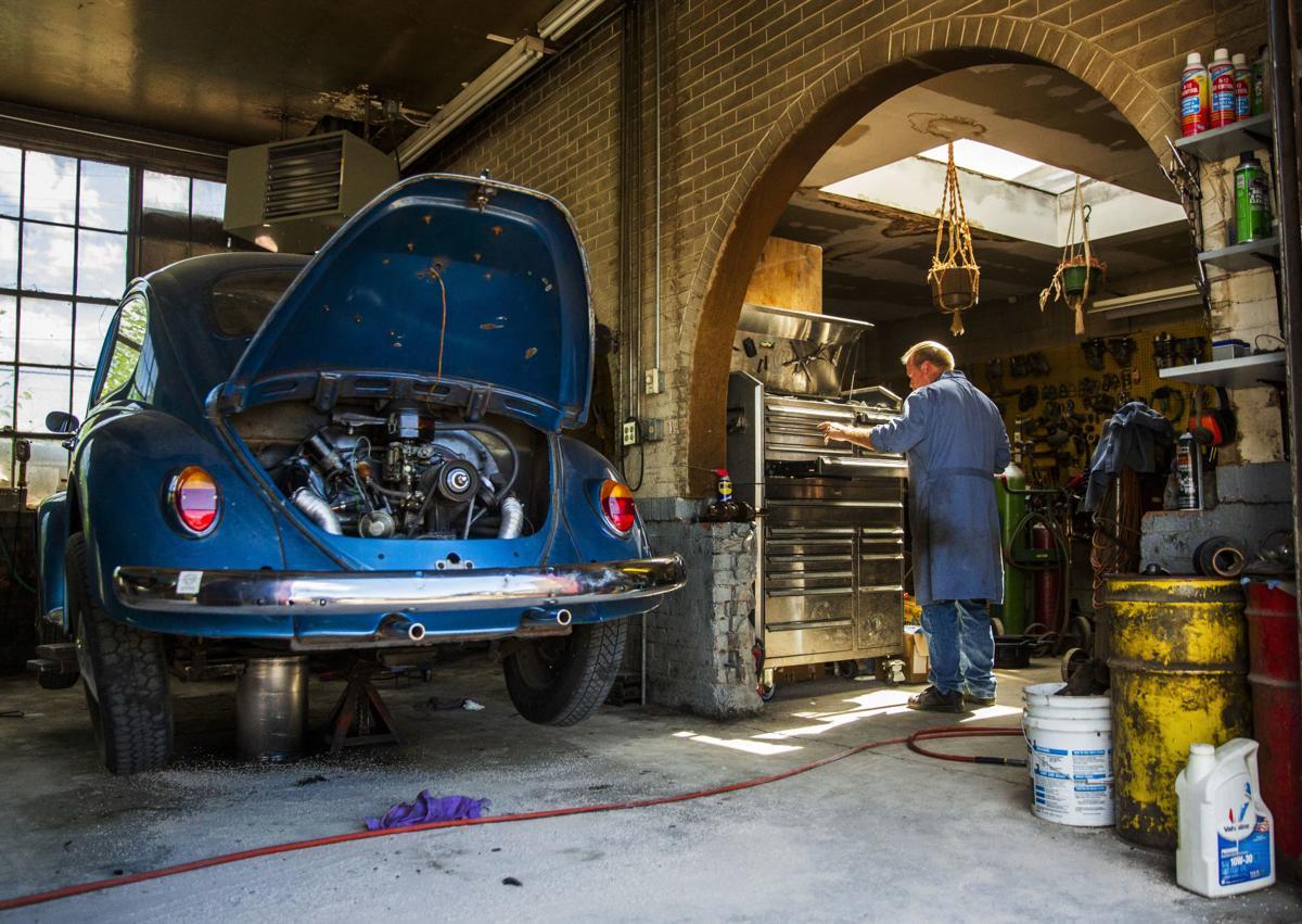 The last Volkswagen Beetle