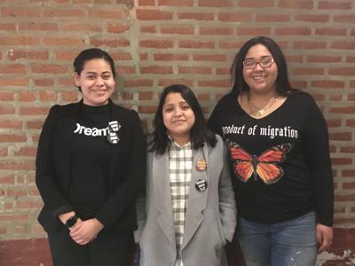Teens DACA advocates, TNS photo