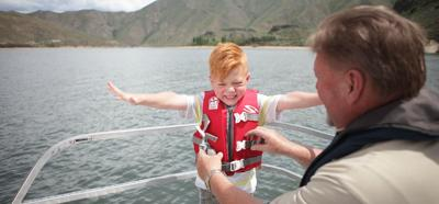 Kids and life jackets