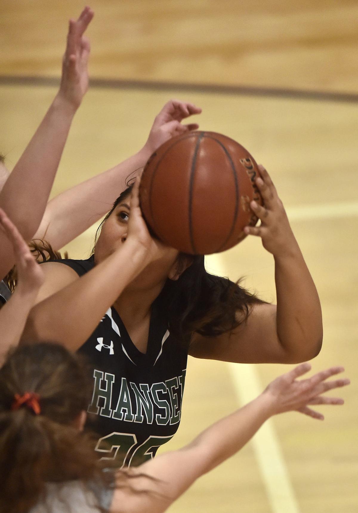Girls Basketball - Hansen Vs. LHC