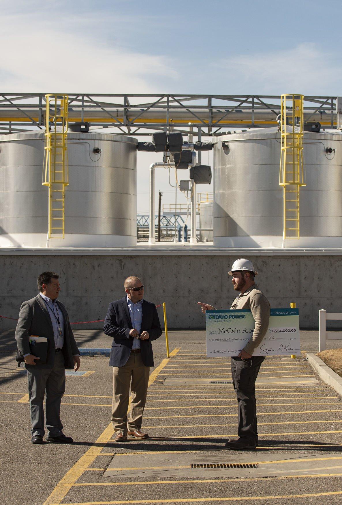 Idaho Power hooks up McCain Foods