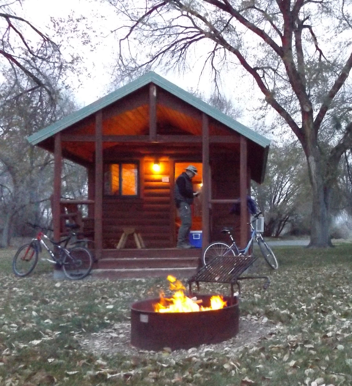Etonnant Your December Park Adventure: Cabin Camping At Three Island Crossing