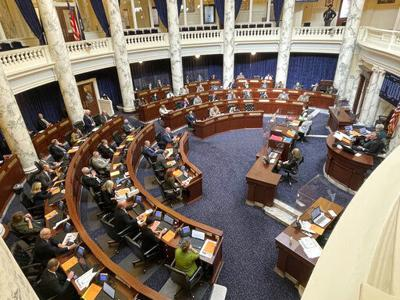 Idaho lawmakers target COVID-19 rules even as they get sick
