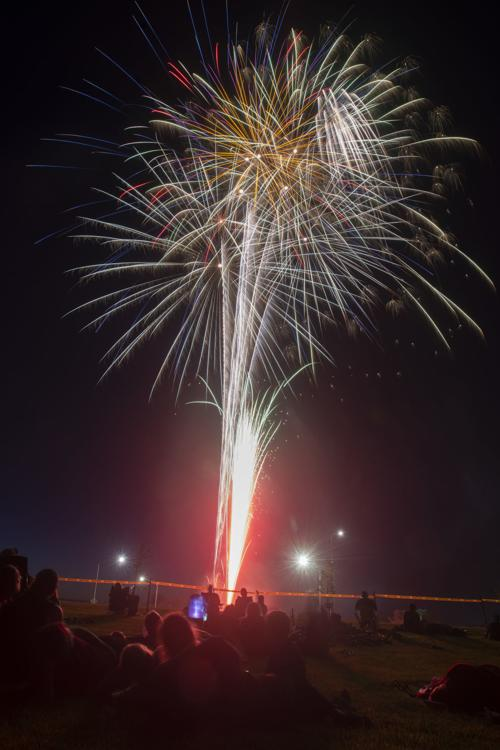 Fireworks over Twin Falls