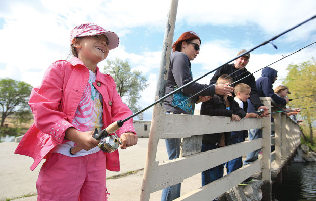5 best places to take children fishing in magic valley for Fish stocking ca