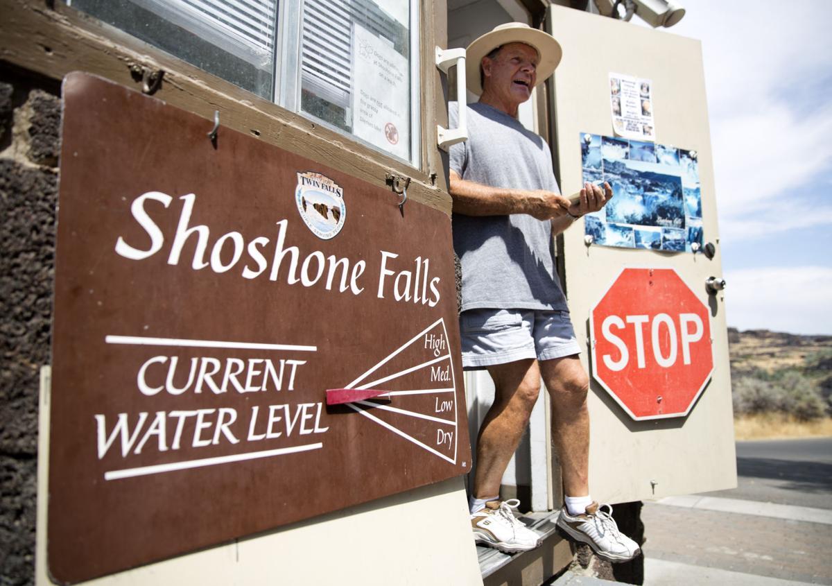 Shoshone Falls update