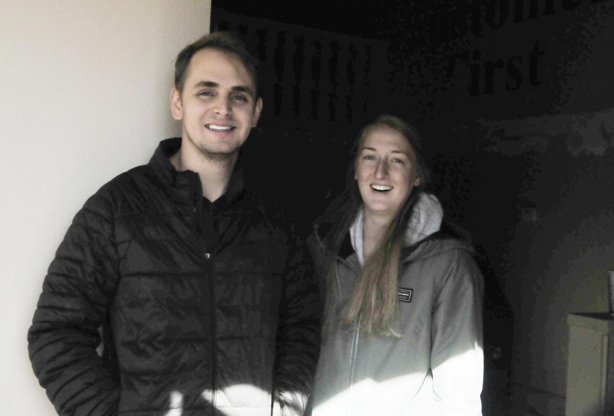 Alex and Ryley Mortensen
