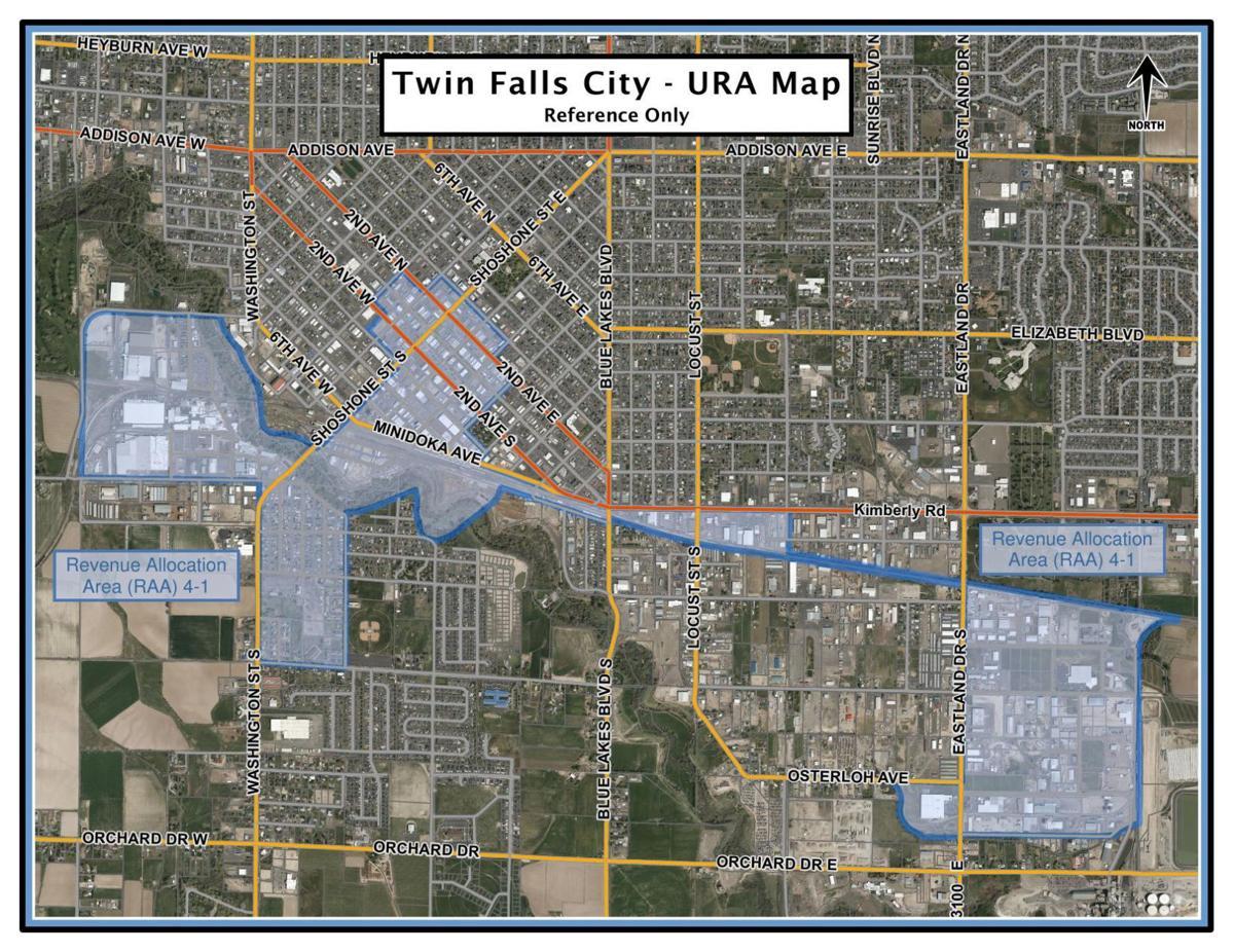 URA 4-1 Revenue Allocation Area