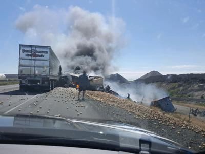 Fatal crash near Eden