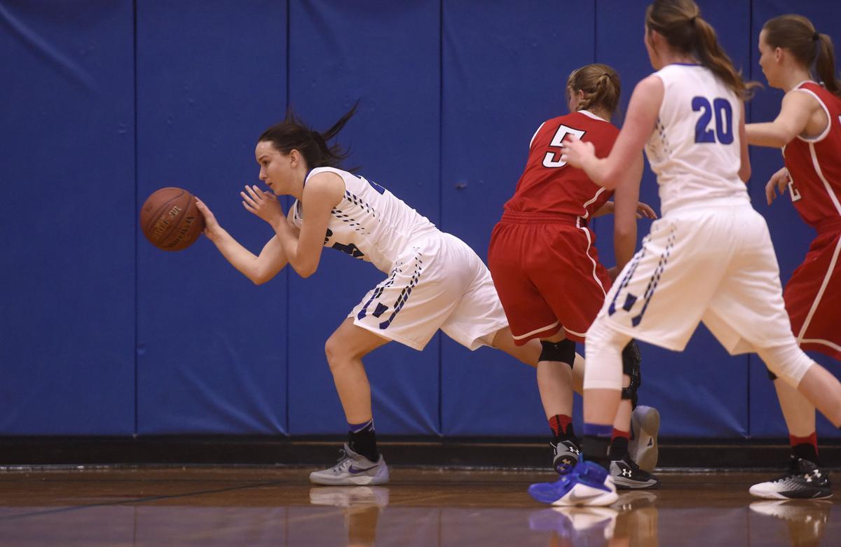 Girls Basketball - Oakley Vs. Valley