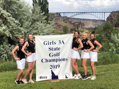 Girls 3A State Golf Champions