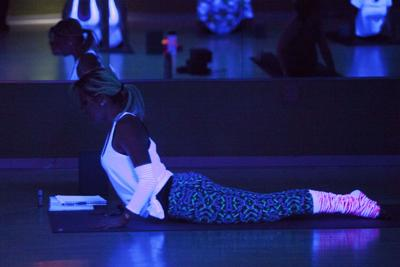 Blacklight Yoga