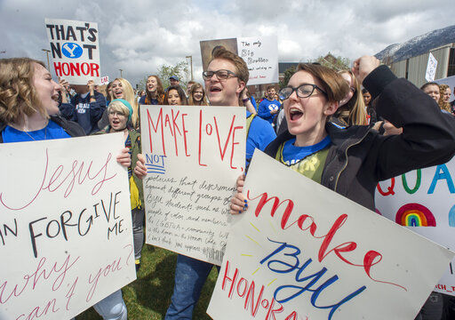 Students at Mormon-owned BYU urge honor code compassion