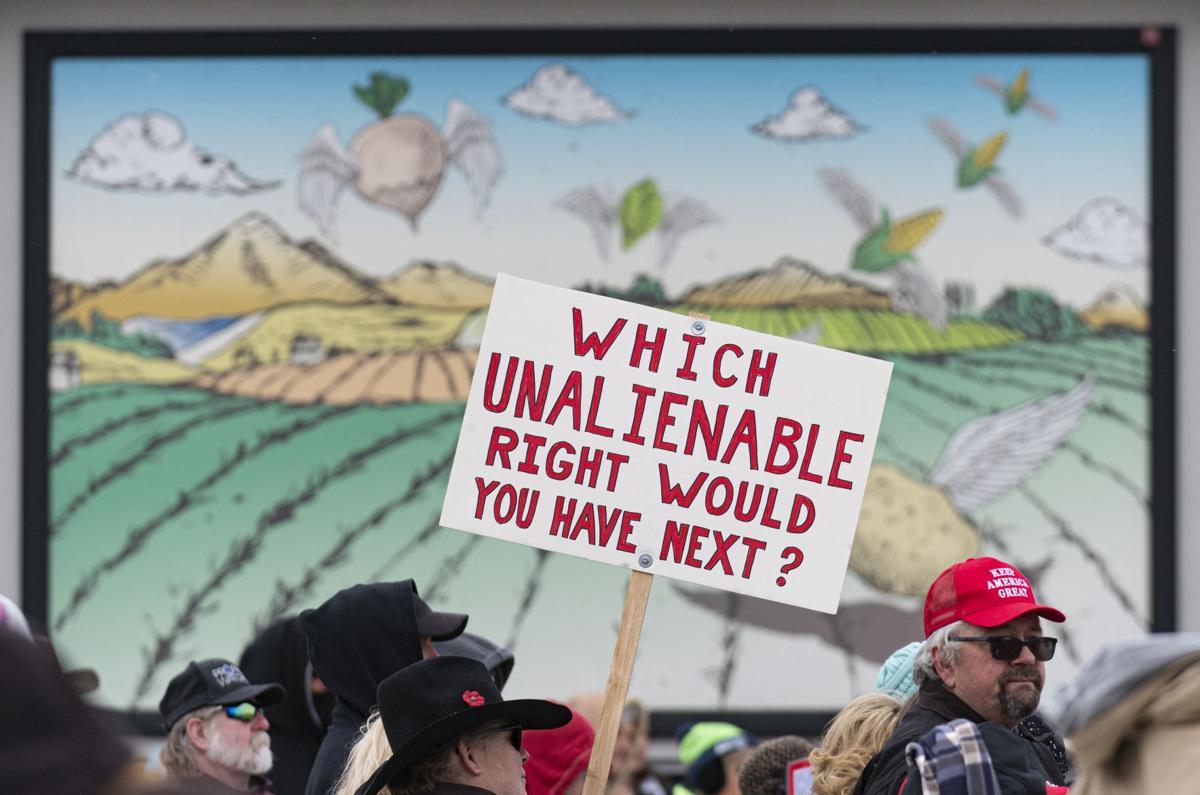 No Mask Mandates Rally