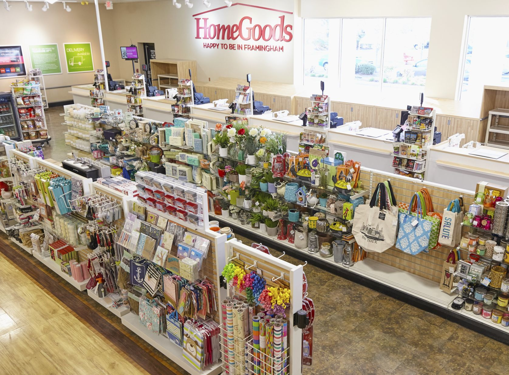 Amazing A HomeGoods Store In Framingham, Mass.