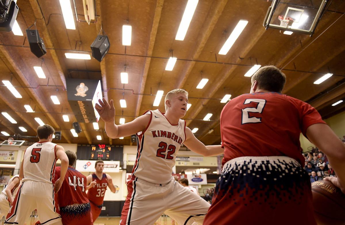 Boys Basketball - Kimberly Vs. Filer