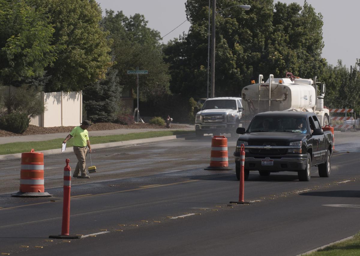 Construction on Eastland Road