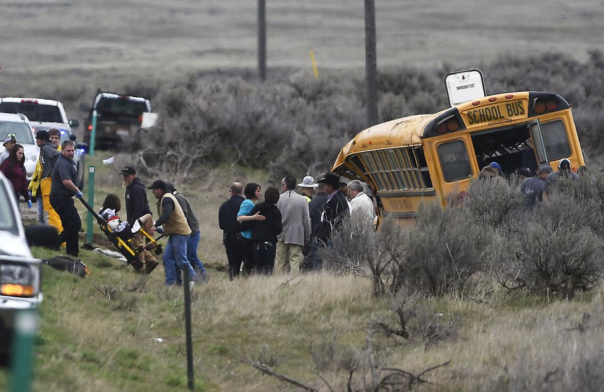 Bus crash carrying Carey Jr. High athletes
