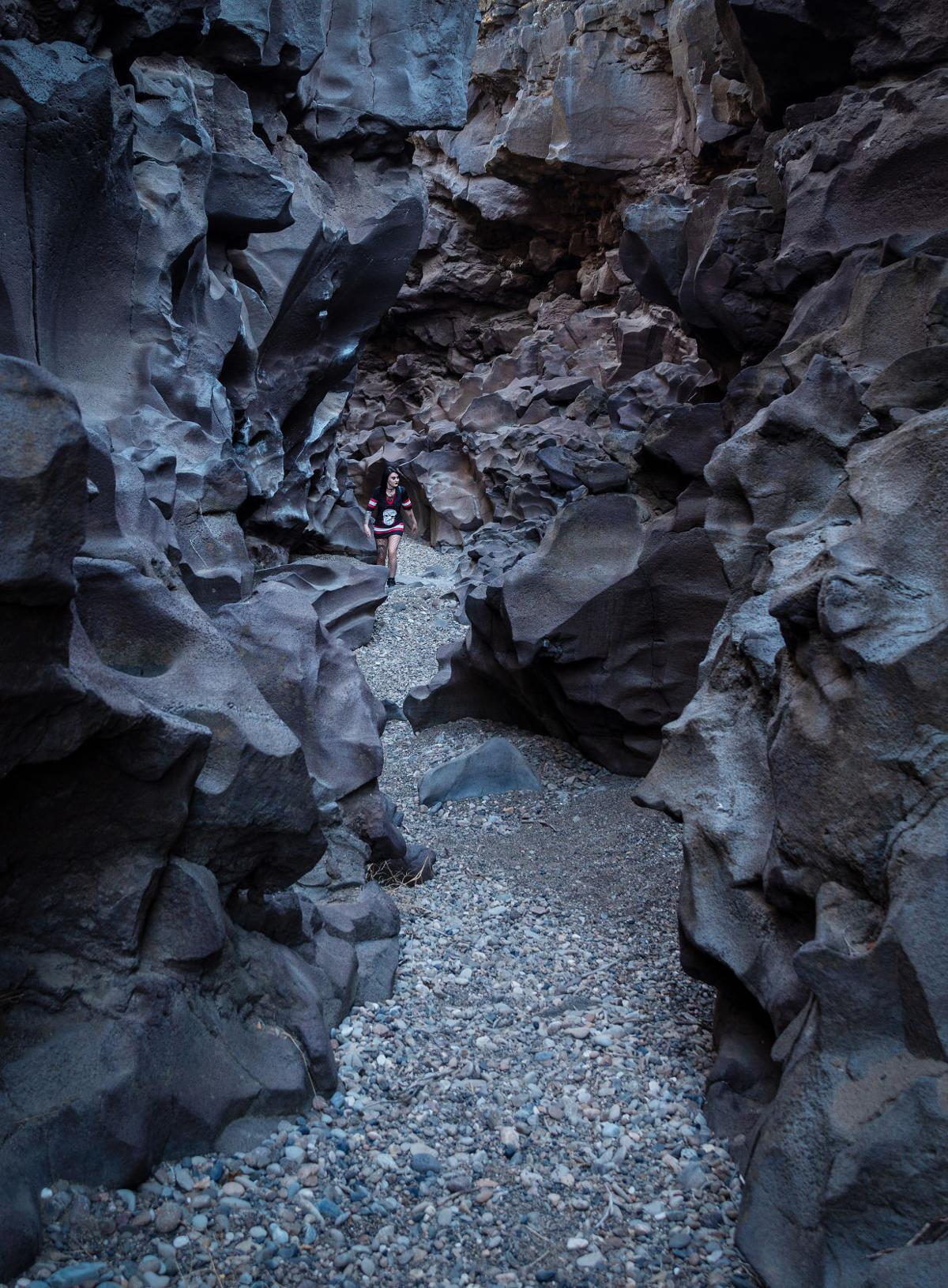 Hiking in the social distance — Black Magic Canyon