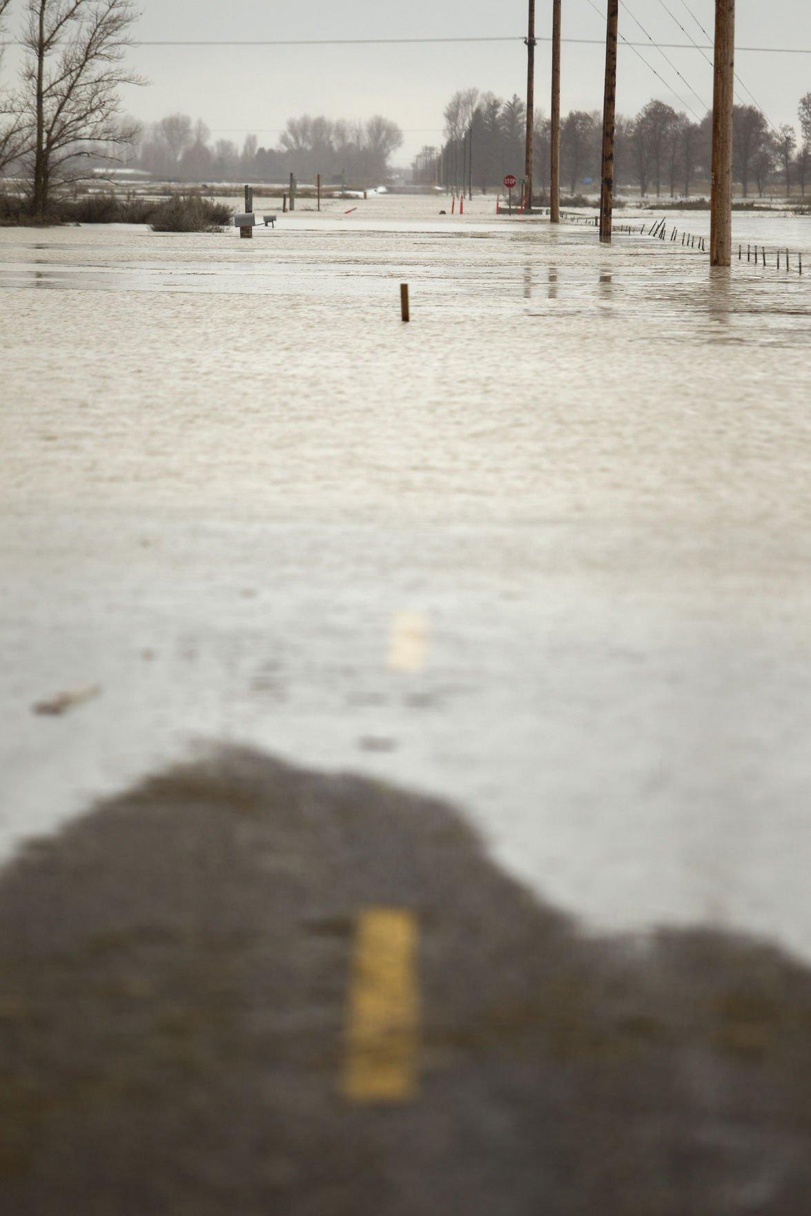 Flooding in Minidoka County