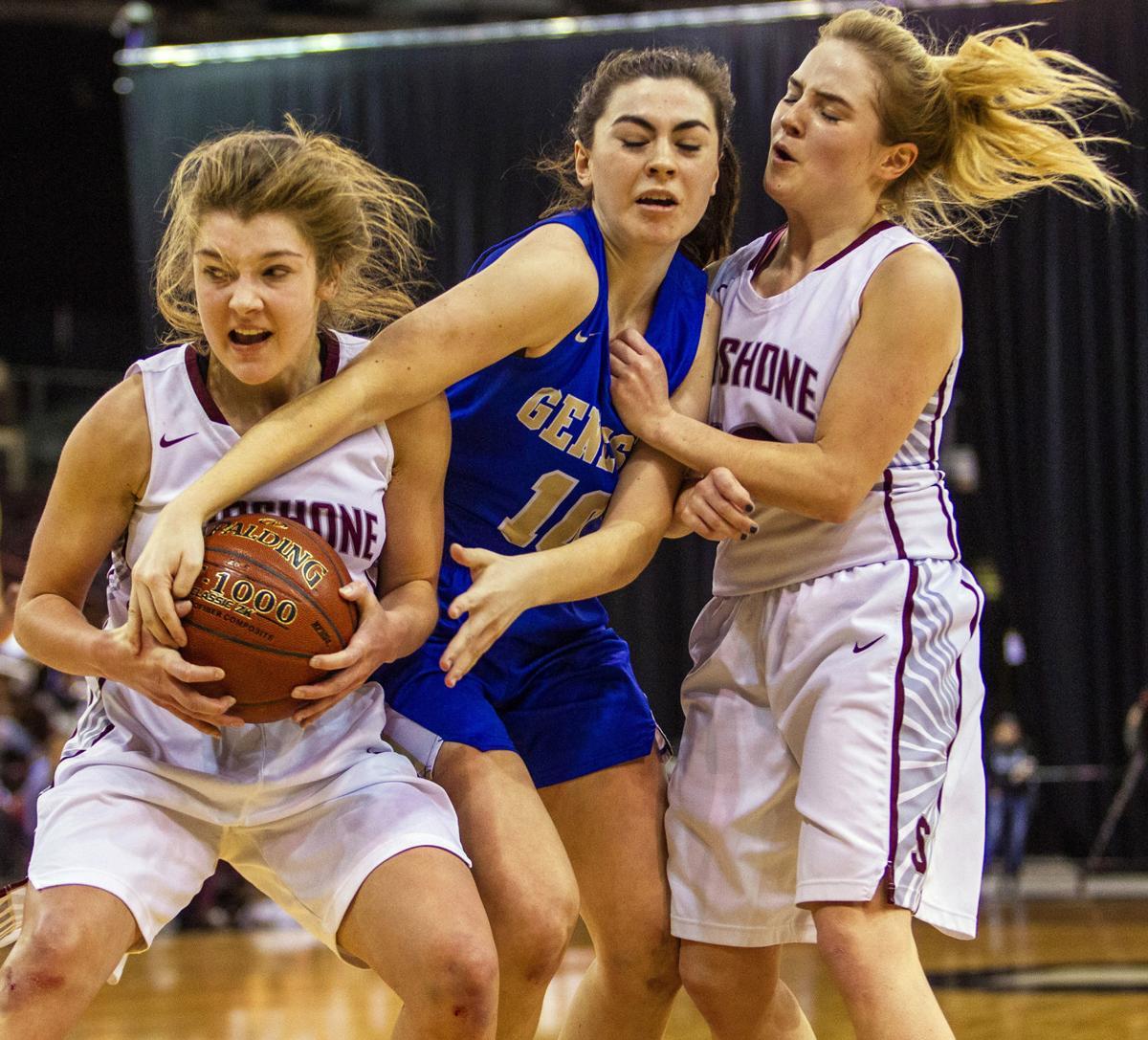 Shoshone vs Genesee girls championship