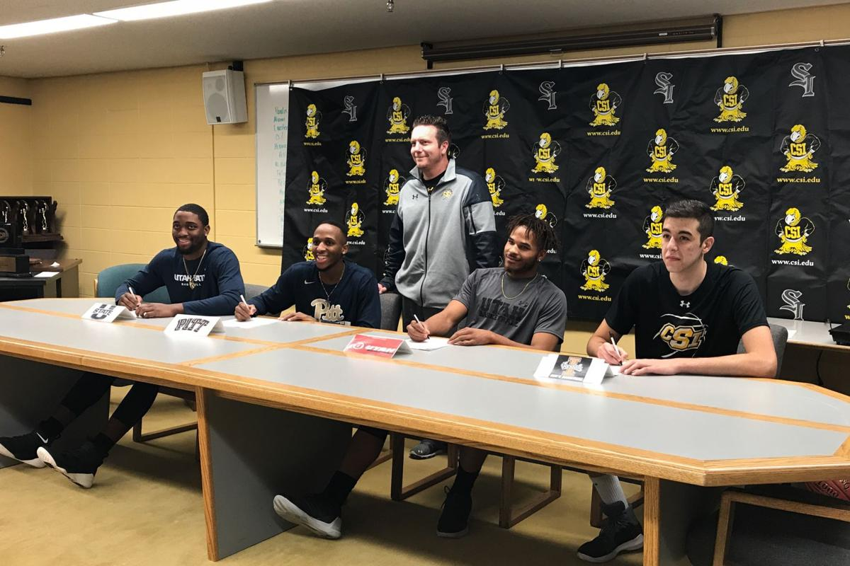 CSI men's basketball signings