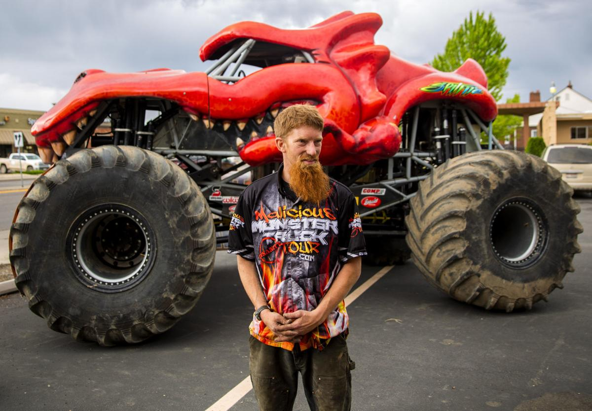 Taming Dragons Malicious Monster Trucks Return To Magic Valley Speedway Local Magicvalley Com
