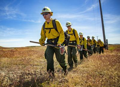 BLM firefighters train for upcoming season