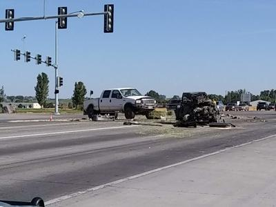UPDATE: Saturday morning wreck on U S  93 results in