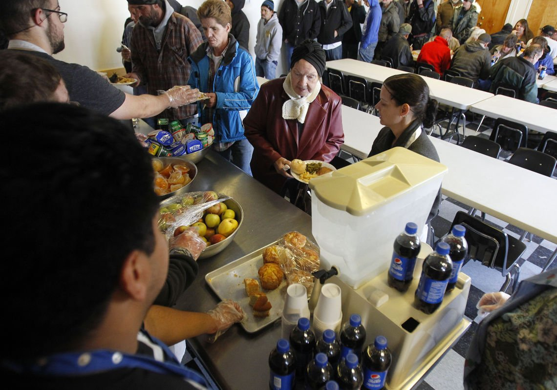 Salvation Army Serves the Less Fortunate