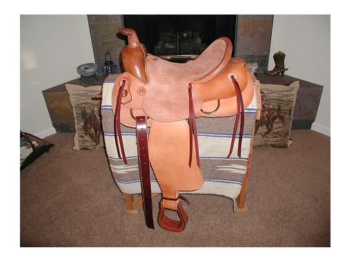 Homemade saddle