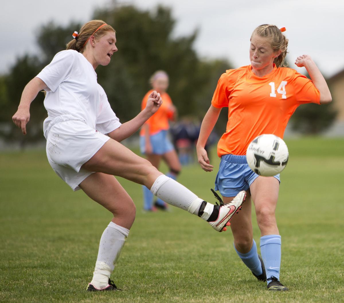 Canyon Ridge vs. Twin Falls girls soccer