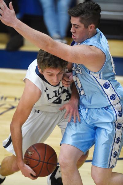 Boys Basketball - Dietrich vs. LHC