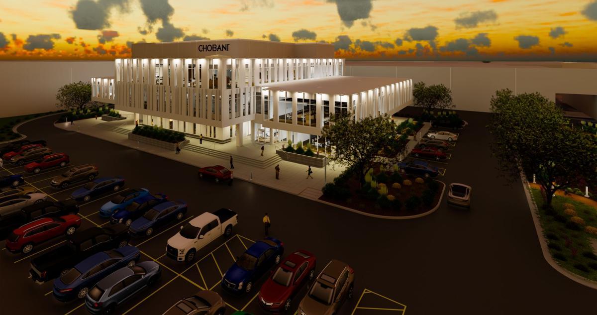 Chobani innovation, community center