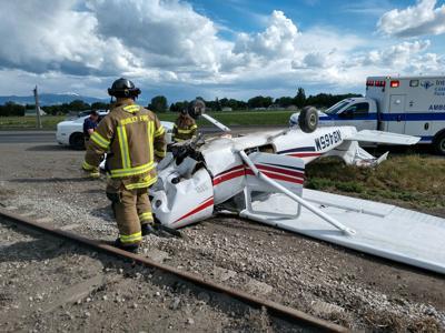 Burley plane crash