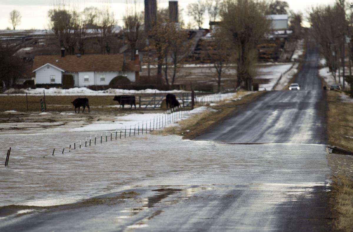Buhl flooding