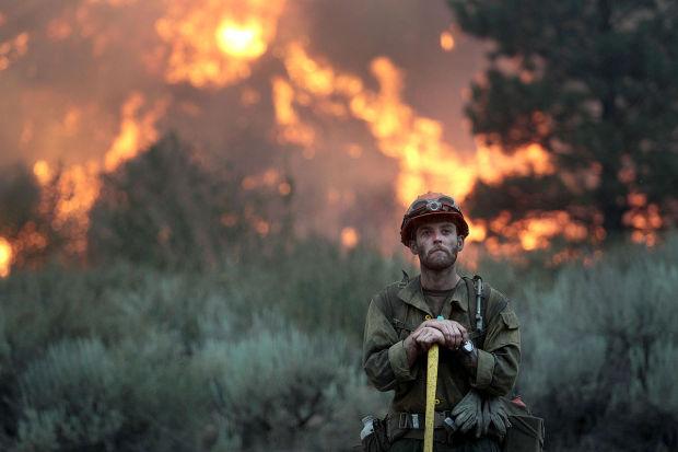 Elk Fire near Pine, Idaho