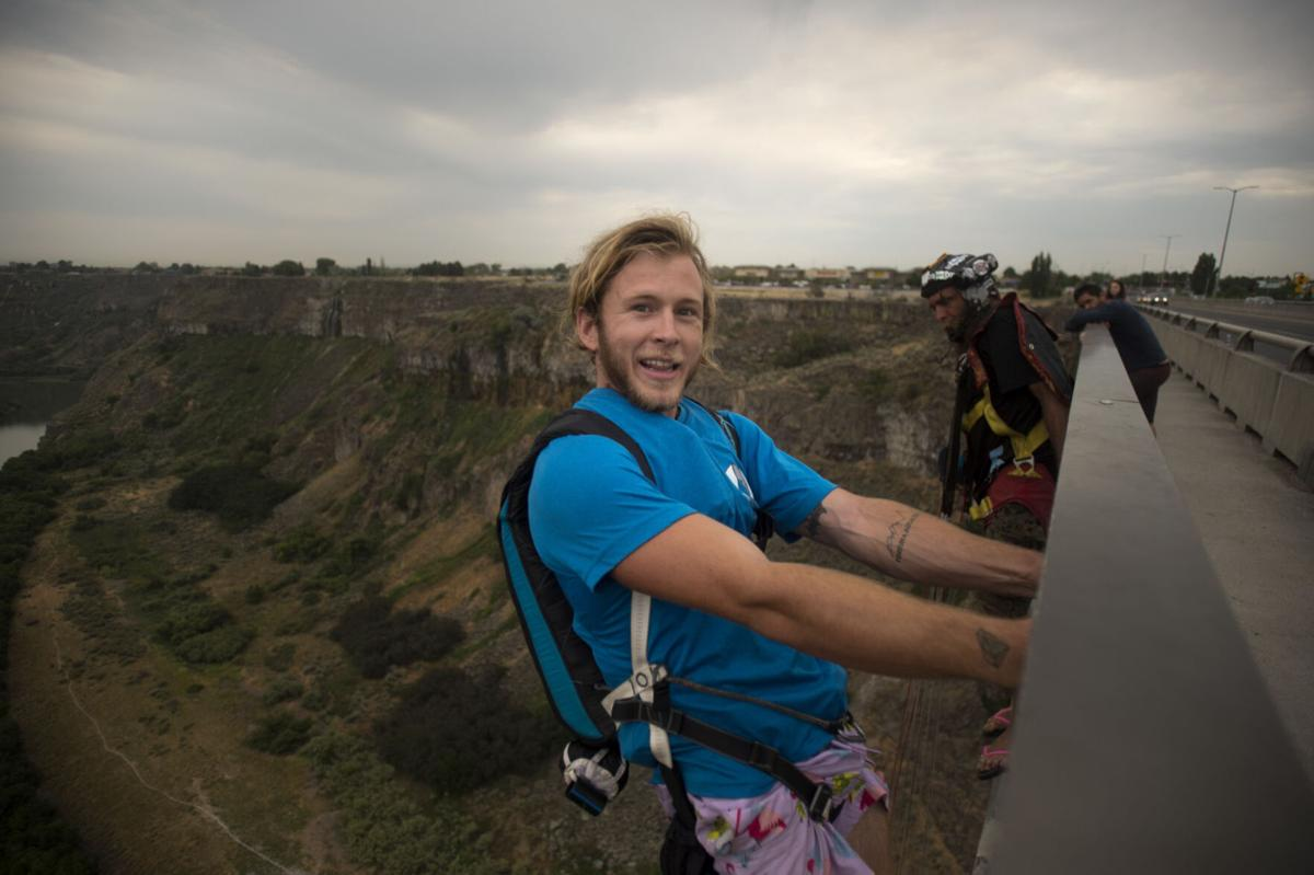 BASE Jumping with Austin Carey