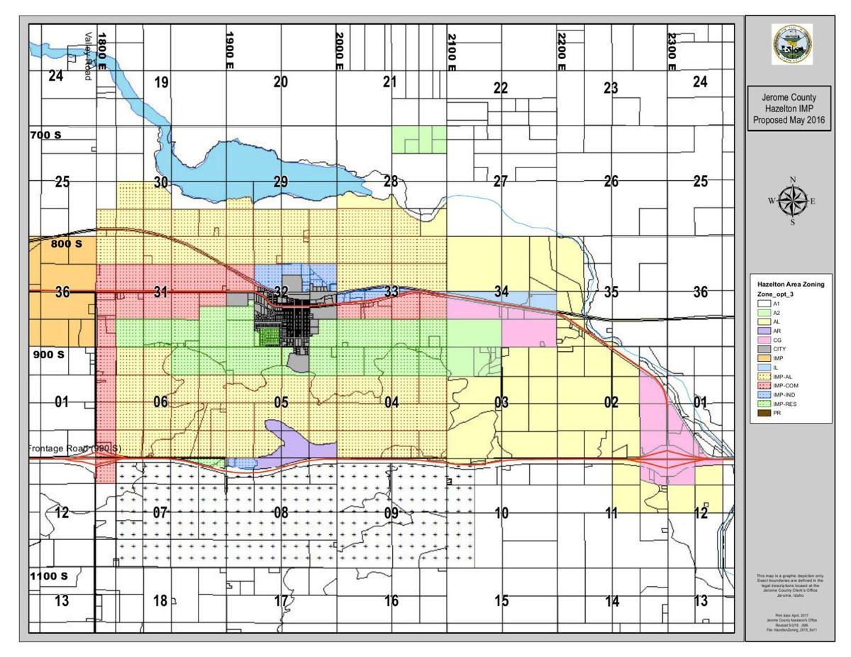 Hazelton impact area