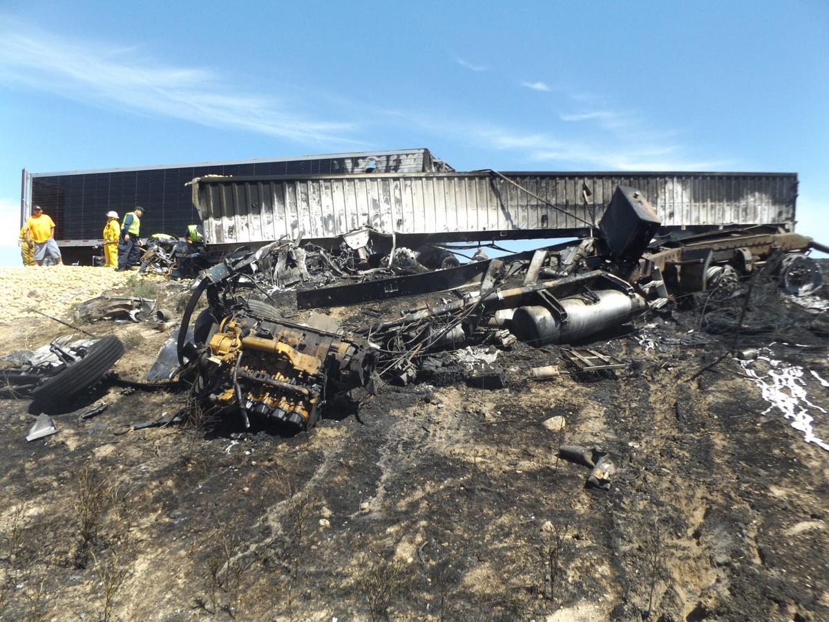 UPDATE: Truck driver dies in I-84 construction zone crash