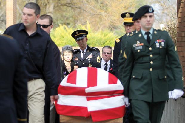 Staff Sgt. Dan Brown Funeral