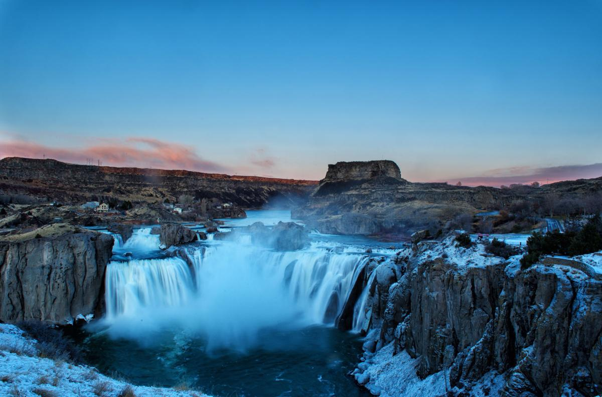 Shoshone Falls roars to life in December