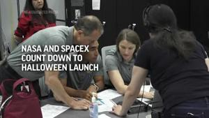 NASA and SpaceX count down to Halloween launch
