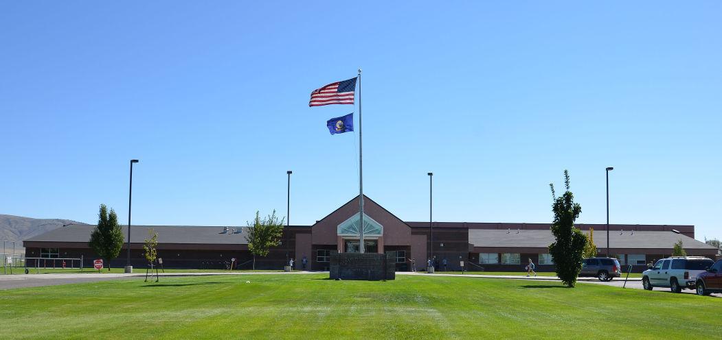 Declo High School building