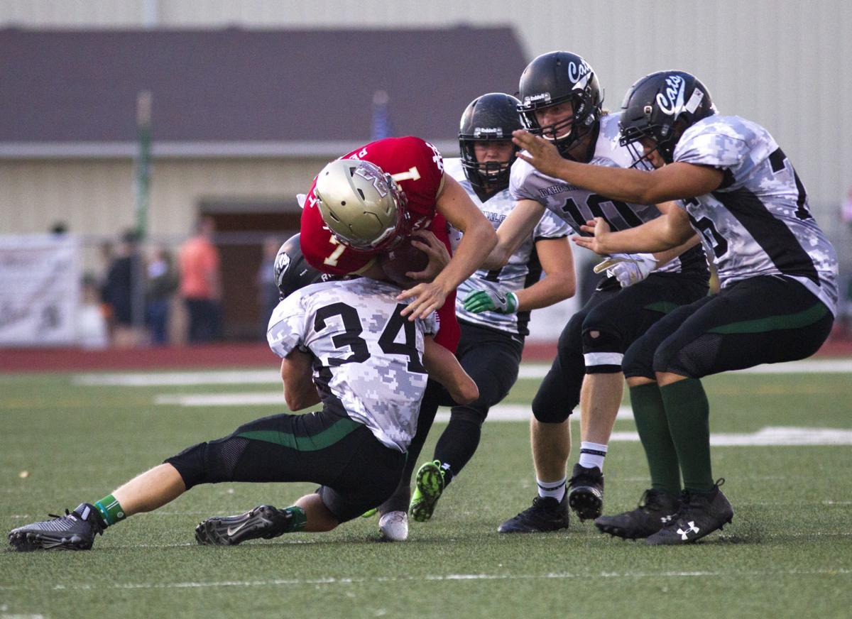 Burley vs. Minico football